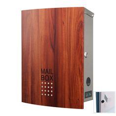 LEON MB4504ネオステンレス マグネット Mailbox, Lockers, Locker Storage, Cabinet, Furniture, Home Decor, Clothes Stand, Mail Drop Box, Post Box