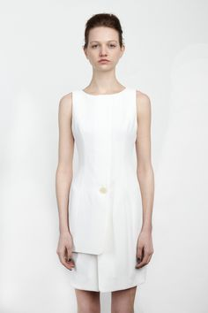 {Chalayan / 01 clothing / 01 dress} Layered Dress