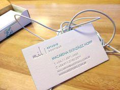 Letterpress Business Cards  Cotton Paper  by MilLetterpress, $180.00