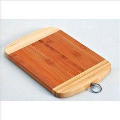 Planche à découper à anneau Bambou