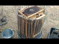 Derretedor de cera a vapor feito com tambor de 200 litros - YouTube