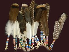 (Prayer feathers and Feather Fans are custom-made to your specific requirements, color of beads, bead design etc., & accessories)