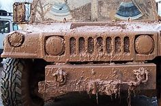 Hummer-driving off-road - because you can!