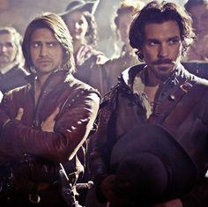 D'Artagnan and Aramis