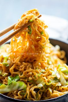 Quick Chow Mein with shredded cabbage Chow Mein, Vegetarian Recipes, Cooking Recipes, Healthy Recipes, Asia Food, Asian Cooking, Cooking Oil, Asian Recipes, Chinese Recipes