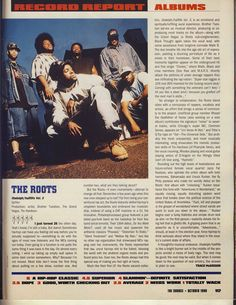 I say The Roots first 4 albums are all 5 Mics. Rap Albums, Hip Hop Albums, Hip Hop And R&b, Hip Hop Rap, Rap City, Hip Hop Classics, Source Magazine, Music Photo, Jazz Music