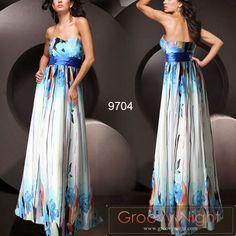 万華鏡のような美しさ イキイキとしたカラーロングドレス♪ - ロングドレス・パーティードレスはGN 演奏会や結婚式に大活躍!
