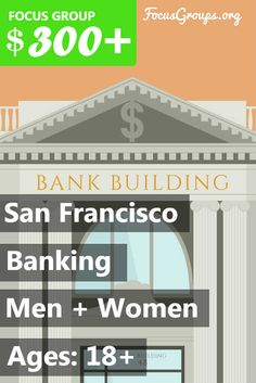Nichols Research is looking for anyone making banking decision for yourself or others to participate in a research project. Where: San Francisco When: Wednesday, January 11th and Thursday, January 12th Times: 10:00 AM - 6:00 PM Duration: 1 - 2 hours Incentive: Participants who qualify, are invited and attend the project will receive a $300.00 VISA card as a thank you for their time and opinions To determine whether or not you qualify to participate in this particular study, please complete…