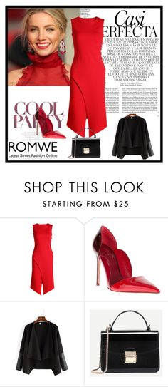 """""""Romwe 8/VIII"""" by nermina-okanovic ❤ liked on Polyvore featuring Burberry, Whiteley and shein"""