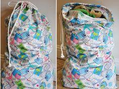 DIY: Laundry Bag