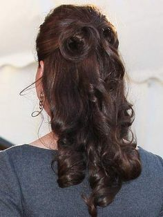 Kate Middleton's hairdresser reveals the secrets of her signature demi-chignon hairstyle - now