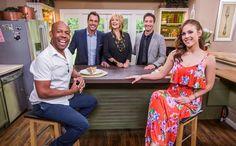 Daniel Lissing & Erin Krakow on the Home & Family Show. (video clip)