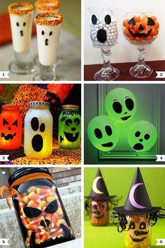 Diy halloween crafts with faces halloween eten voor feest, halloween projec Theme Halloween, Halloween Projects, Easy Halloween, Holidays Halloween, Halloween Decorations, Craft Projects, Halloween Stuff, Food Decorations, Halloween Foods