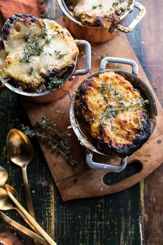 Crockpot French Onion Soup with Cheesy French Toast (VIDEO!!) | halfbakedharvest.com @hbharvest