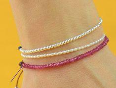 Red Ruby Spinel bracelet