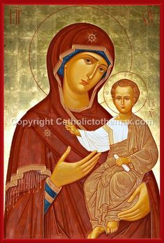 The Virgin of Hodegetria Icon II Wall Plaque