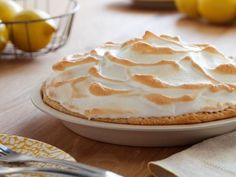 Get Lemon Meringue Pie Recipe from Food Network Try meringue topping..