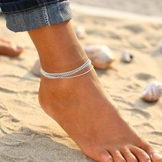 Item Type: Anklets Metals Type: Zinc Alloy Material: Stone, Metal, Beads