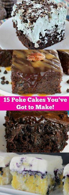15 Poke Cakes
