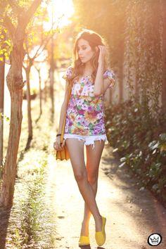 FashionCoolture - 14.06.2014 look du jour tshirt Brasil (6)