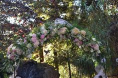 Floral Garland for Ceremony Arch