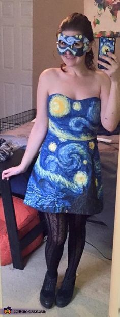 Starry Night Costume