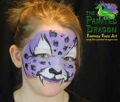 Photo Gallery - The Painted Dragon -- Face painting for the Quad Cities and surronding areas. Dragon Face Painting, Quad Cities, Animal Design, Animal Paintings, Photo Galleries, Gallery, Holiday, Art, Art Background