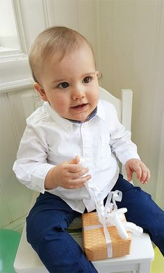 Prince Alexander of Sweden poses on his first birthday. Photo: Erika Gerdemark, The Royal Court, Sweden.