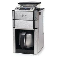 Capresso Team Pro Plus Thermal Carafe Coffee Maker, Silver 488.05