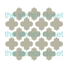 12 Moroccan stencil by TheStencilCloset on Etsy Stencil Painting, Stenciling, Painting Tips, Moroccan Stencil, Moroccan Theme, Stencil Patterns, Modern Bedroom Design, Cool Paintings, Luxurious Bedrooms