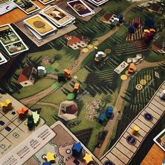 Viticulture! 6 player Friday night graph crushing one of our group favourites!