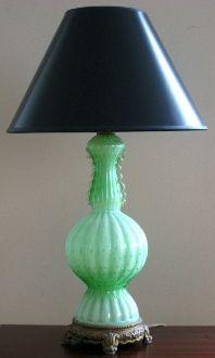 Barovier Amp Toso Cordonato Oro Glass Lamp