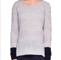 CASHMERE JUMPER PINK STRIPE BACK AND NAVY STRIPE SLEEVE – Boutique Online Fashion Clothing Store | Marshmellow