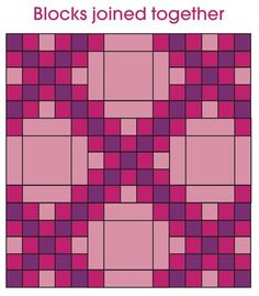 double irish chain pattern