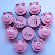 Greedy Pig Cupcakes