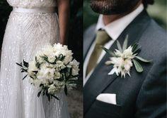 ADORO: Detalhes florais de noivos // Bride and groom floral details
