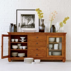 Ethan allen on pinterest ethan allen barrister bookcase and buffet - Ethan allen buffet table ...