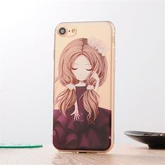 Fashion girl style Relief pattern soft TPU silicon Phone Case For iPhone 7 4.7 inch / 7 Plus 5.5 inch back cover | iPhone Covers Online