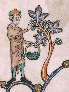 The Gorleston Psalter Date 1310-1324 Add MS 49622 Folio 107r