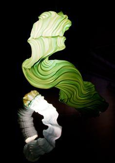 "PIEKE BERGMANS' BLOWN-PLASTIC VAPOR LIGHTING ""GROWS LIKE A PLANT OR ANIMAL"""