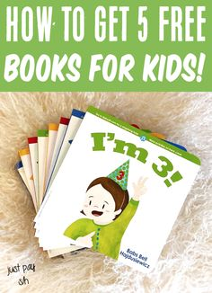 Early Reading Books & Activities for Kids! How to get 5 board books for your little ones! Have you gotten yours yet?? Get Free Stuff, Free Baby Stuff, Cool Baby Stuff, Early Reading, Reading Books, Gifts For New Moms, Gifts For Girls, Board Books For Babies, Baby Freebies