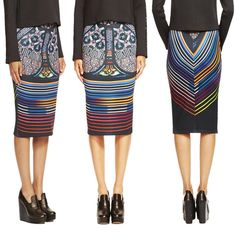 We LUV this new arrival from Clover Canyon Holiday 2014 Collection - STAINED GLASS PENCIL SKIRT at Blu's Calgary and Edmonton  #neoprene #losangeles #la #pencil #skirt #clovercanyon #fashionista #fashionblogger #fashion #blusonyou #bluswomenswear #yeg #yegfashion #yyc #yycfashion