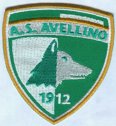 AS Associazione Sportiva Avellino 1912 Italian Italy Football Soccer Badge Patch