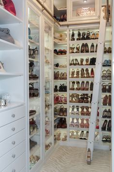 A custom closet personalized just for you...and your shoes. Check out Closet Factory in Oregon.