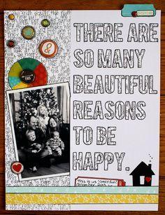 Beautiful Reasons // via Gossamer Blue
