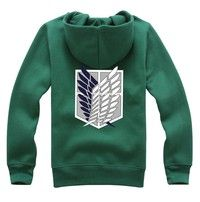 Wish | Festival Cosplay Clothing Japanese Anime Attack on Titan Wings of Liberty Hoodies