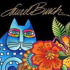 Coloring Laurel Burch Images