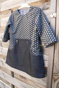 Sewing Patterns Girls, Baby Dress Patterns, Sewing For Kids, Baby Sewing, Clothing Patterns, Kids Outfits Girls, Toddler Outfits, Girl Outfits, Robe Diy