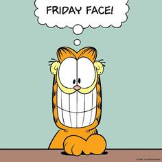 Funny pictures good morning feelings 61 ideas for 2019 Garfield Cartoon, Garfield Quotes, Garfield And Odie, Garfield Comics, Friday Jokes, Happy Friday Quotes, Friday Cartoon, Friday Cat, Garfield Pictures