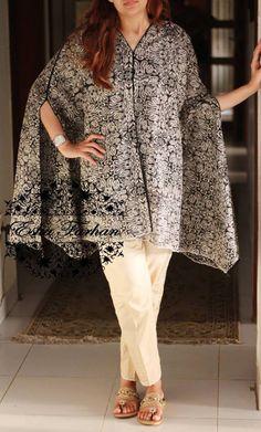 Pakistani cape dress